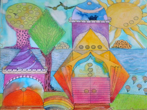 hart workshop stad van de toekomst Embras tekentherapie therapie Mieke Vreugdenhil Grave